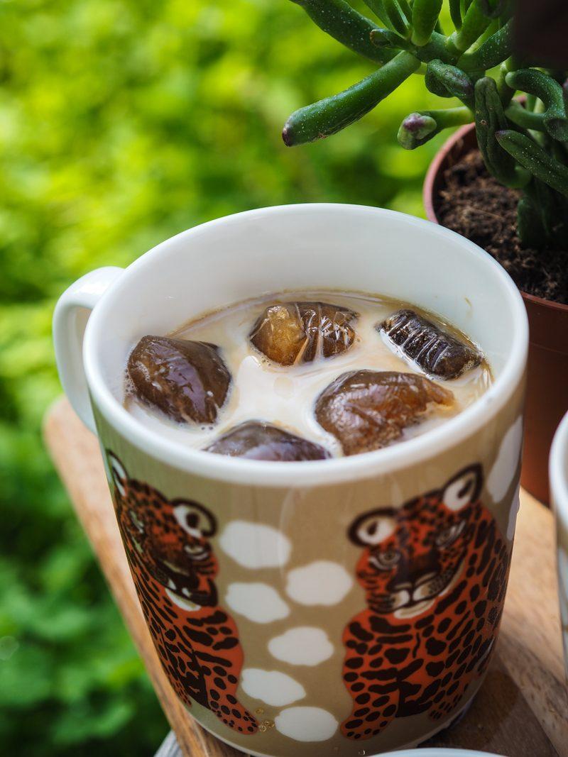 jääpalat kahvista